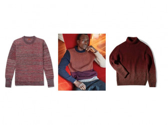Textured and chunky knit sweaters jumpers for Autumn Winter