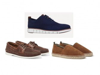 Smart casual summer shoes