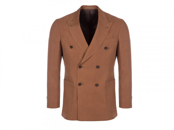 Timothy Everest sepia linen blazer - personal shopping styling for men