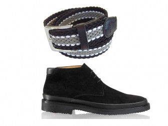What belts to wear with black and brown shoes